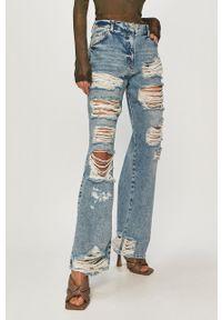 Niebieskie jeansy bootcut Patrizia Pepe klasyczne