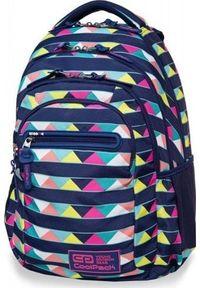 Patio Plecak szkolny Coolpack Rfid granatowy. Kolor: niebieski