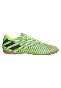 Adidas - Buty piłkarskie adidas Nemeziz Messi 19.4 IN FV3997. Zapięcie: sznurówki. Materiał: guma, materiał, syntetyk. Szerokość cholewki: normalna. Sport: piłka nożna