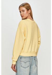 only - Only - Bluza. Kolor: żółty. Wzór: nadruk