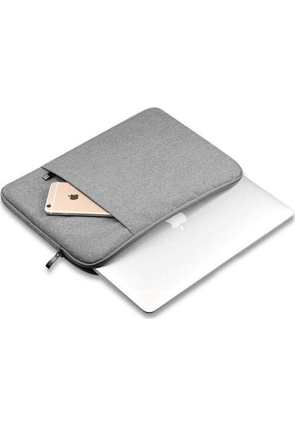 """Etui Pan i Pani Gadżet Uniwersalne MacBook Pro 15 15"""" Szary. Kolor: szary"""