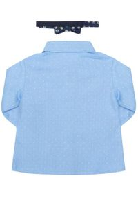 Mayoral Koszula 2119 Niebieski Regular Fit. Kolor: niebieski