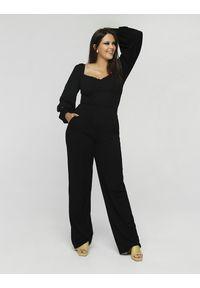 Czarne spodnie eleganckie
