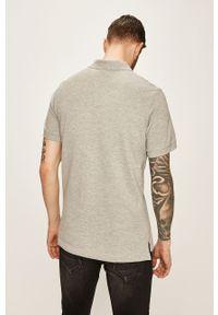 Szara koszulka polo Nike Sportswear casualowa, polo, na co dzień, krótka