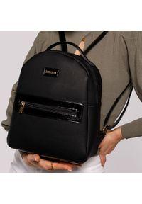 Czarny plecak Wittchen gładki, klasyczny