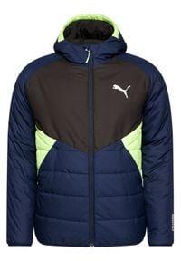 Niebieska kurtka puchowa Puma #5