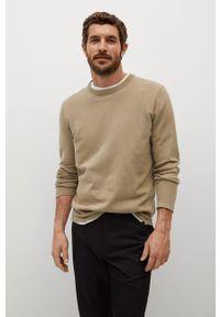 Sweter Mango Man casualowy, długi, na co dzień