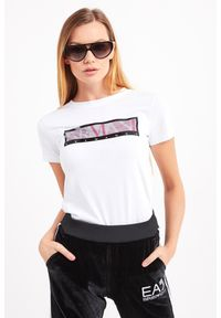 T-shirt Armani Exchange na co dzień, casualowy
