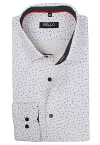 Elegancka koszula Bello długa, do pracy, z długim rękawem