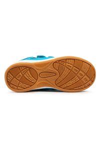 Kappa - Sneakersy KAPPA - Kickoff K 260509K Azur/Black 6211. Zapięcie: rzepy. Kolor: niebieski. Materiał: skóra ekologiczna, materiał. Szerokość cholewki: normalna #3