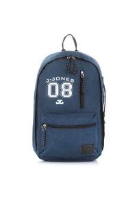 Niebieski plecak JENNIFER JONES młodzieżowy