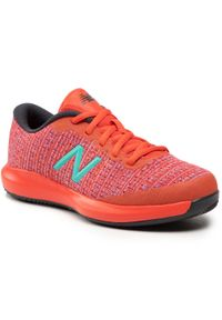 New Balance - Sneakersy NEW BALANCE - KC996WM4 Czerwony. Okazja: na co dzień. Kolor: czerwony. Materiał: materiał. Styl: casual