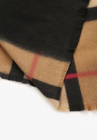 Renee - Brązowy Szalik Ampitheme. Kolor: brązowy. Materiał: bawełna, wiskoza, tkanina, jeans