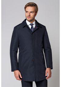 Niebieska kurtka Lancerto na jesień, na co dzień, klasyczna