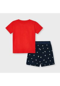 Mayoral Komplet t-shirt i spodenki 3638 Kolorowy Regular Fit. Wzór: kolorowy