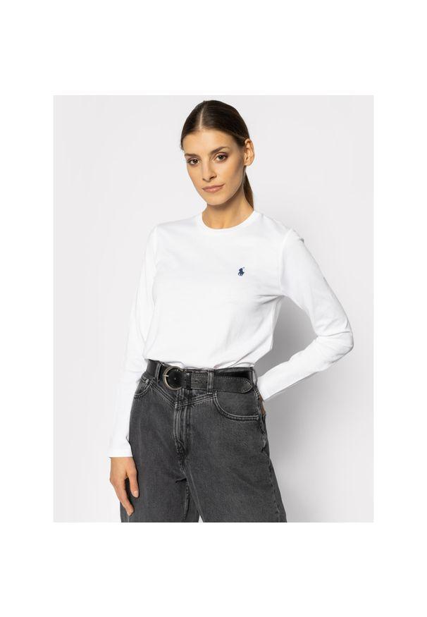 Biała bluzka Polo Ralph Lauren polo