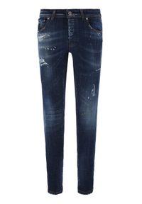 John Richmond Jeansy Skinny Fit Iggy MP20122JE Granatowy Skinny Fit. Kolor: niebieski. Materiał: jeans #5