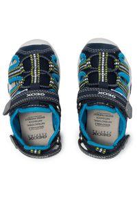 Geox Sandały B S.Multy B. B B920FB 05014 CF44D M Granatowy. Kolor: niebieski