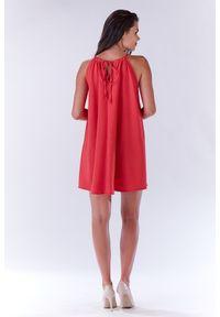 Sukienka Infinite You na lato, z dekoltem halter, oversize