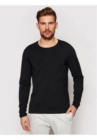 Czarna koszulka z długim rękawem Oscar Jacobson