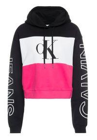 Bluza Calvin Klein Jeans w kolorowe wzory