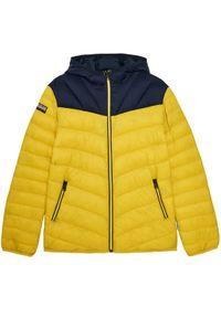 Żółta kurtka puchowa Napapijri