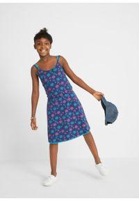 Sukienka letnia (2 szt. w opak.) bonprix kobaltowo-turkusowy. Kolor: niebieski. Sezon: lato