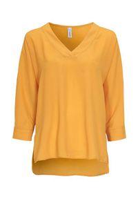 Soyaconcept Bluzka Cemre żółty female żółty S (38). Kolor: żółty. Styl: klasyczny