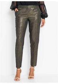 Złote spodnie bonprix retro