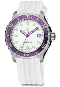 Zegarek Swiza Zegarek damski Tetis Lady SST biały (WAT.0431.1004). Kolor: biały