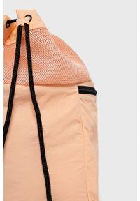 Reebok Classic - Plecak. Kolor: różowy. Materiał: poliester. Wzór: nadruk