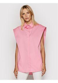 Imperial Koszula CJU2BBE Różowy Oversize. Kolor: różowy