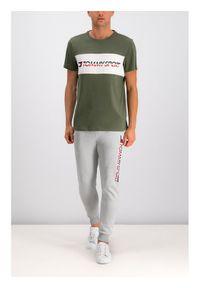 Zielony t-shirt Tommy Sport sportowy