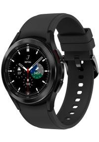 SAMSUNG - Samsung Galaxy Watch4 Classic 42mm Black. Kolor: czarny. Styl: militarny