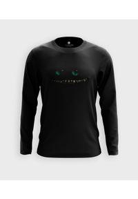 MegaKoszulki - Koszulka męska z dł. rękawem Cheshire cat. Materiał: bawełna
