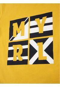 Żółty t-shirt Mayoral