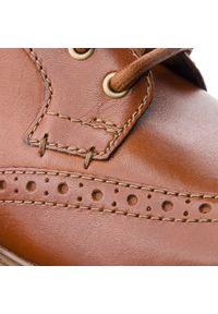 Brązowe buty zimowe Clarks z cholewką #7
