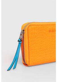 Pomarańczowy portfel Bimba y Lola gładki