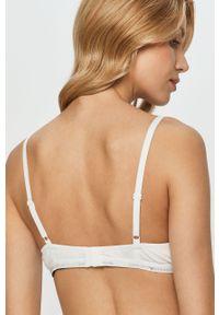 Biały biustonosz Emporio Armani z odpinanymi ramiączkami