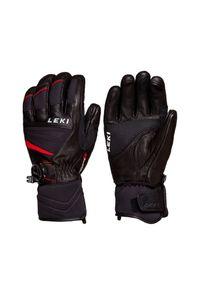 Czarna rękawiczka sportowa Leki narciarska