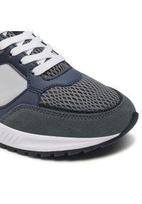 Colmar - Sneakersy COLMAR - Dalton Vice 016 Lt Gray/Navy/Dusty Blue. Okazja: na co dzień. Kolor: niebieski. Materiał: zamsz, skóra ekologiczna, materiał. Szerokość cholewki: normalna. Styl: casual, elegancki