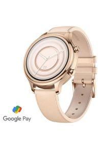 TICWATCH Zegarek C2+, Rose Gold. Rodzaj zegarka: smartwatch. Kolor: różowy