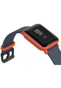 Czerwony zegarek AMAZFIT smartwatch, casualowy #6