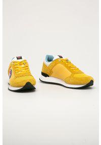 Colmar - Buty. Nosek buta: okrągły. Zapięcie: sznurówki. Kolor: żółty. Materiał: guma, syntetyk, materiał, skóra, zamsz. Szerokość cholewki: normalna #4