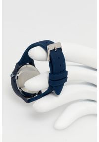 TOMMY HILFIGER - Tommy Hilfiger - Zegarek. Kolor: niebieski. Materiał: skóra, materiał
