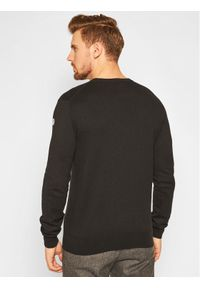 Czarny sweter klasyczny North Sails