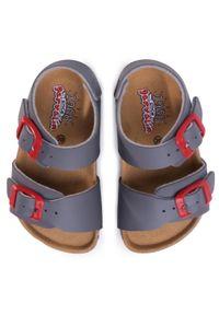 Szare sandały Garvalin na lato