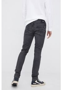 Pepe Jeans - Jeansy Finsbury. Kolor: szary
