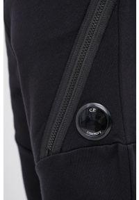 C.P. Company - Spodnie bawełniane. Kolor: czarny. Materiał: bawełna