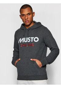 Musto Bluza 82019 Szary Regular Fit. Kolor: szary